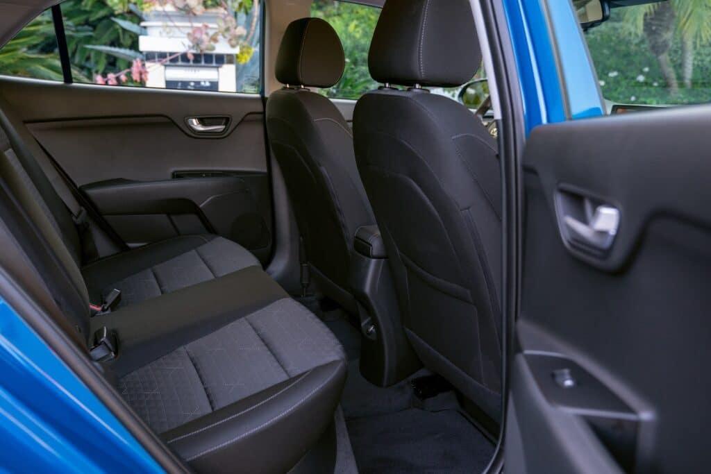 2021 Kia Rio S 5-Door rear seats