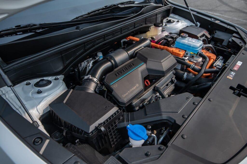 2022 Kia Sorento PHEV engine