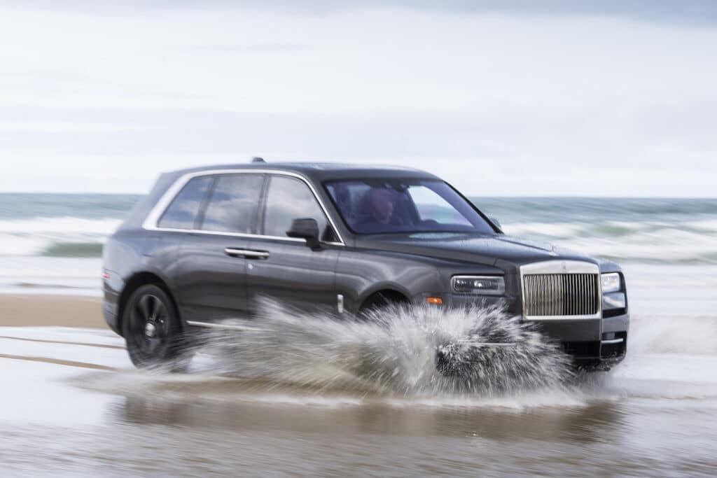 2021 Rolls-Royce Cullinan in water