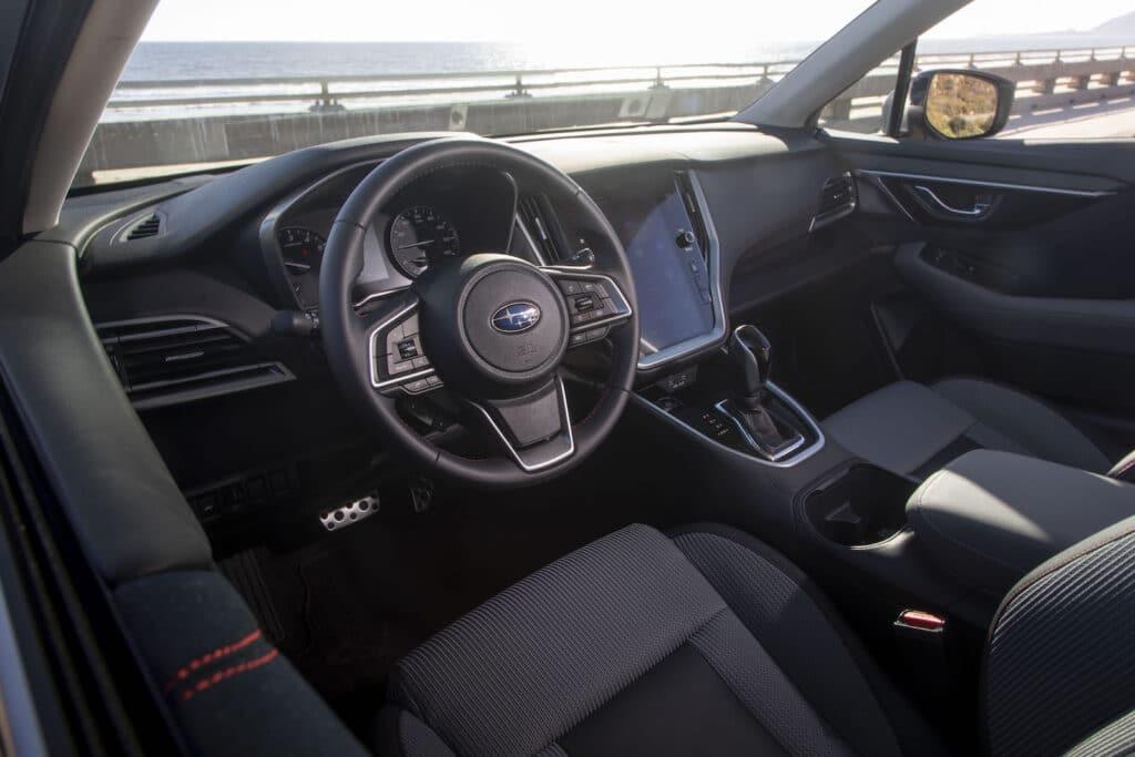 2021 Subaru Legacy cockpit