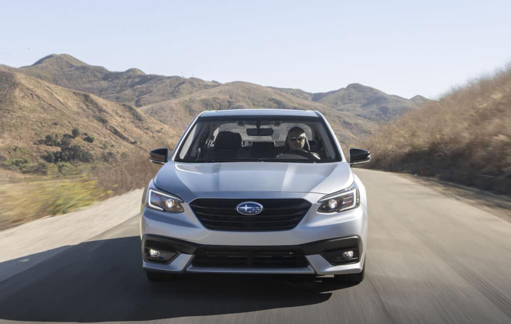 2021 Subaru Legacy nose