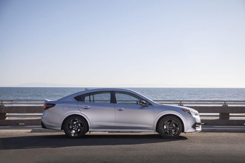 2021 Subaru Legacy side