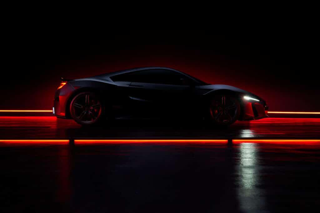 2022 Acura NSX Type S side teaser