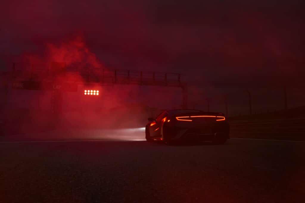 2022 Acura NSX Type S starting line teaser