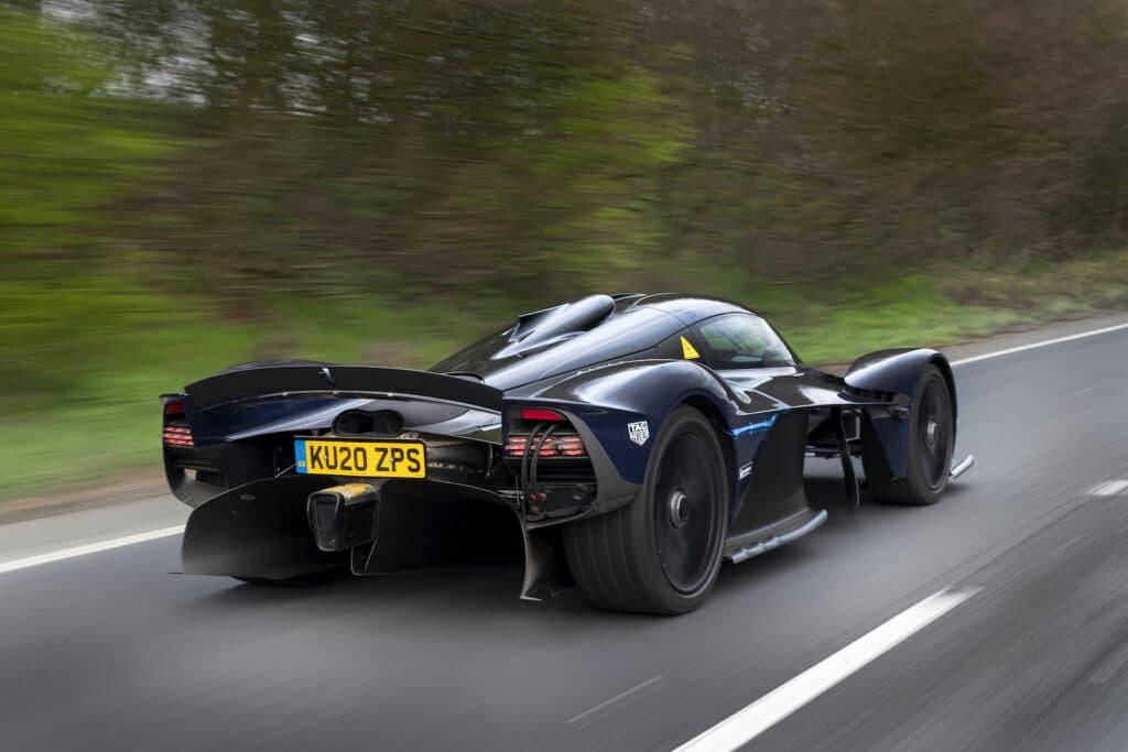 2022 Aston Martin Valkyrie rear