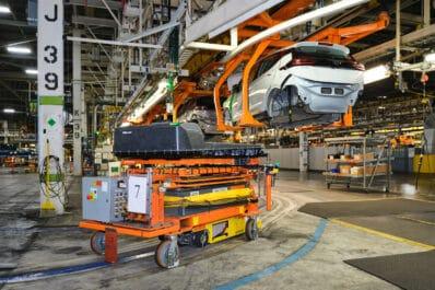 2022 Chevy Bolt Orion plant
