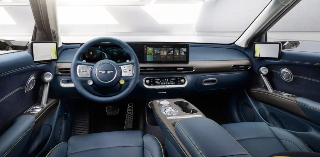 2022 Genesis GV60 debut interior