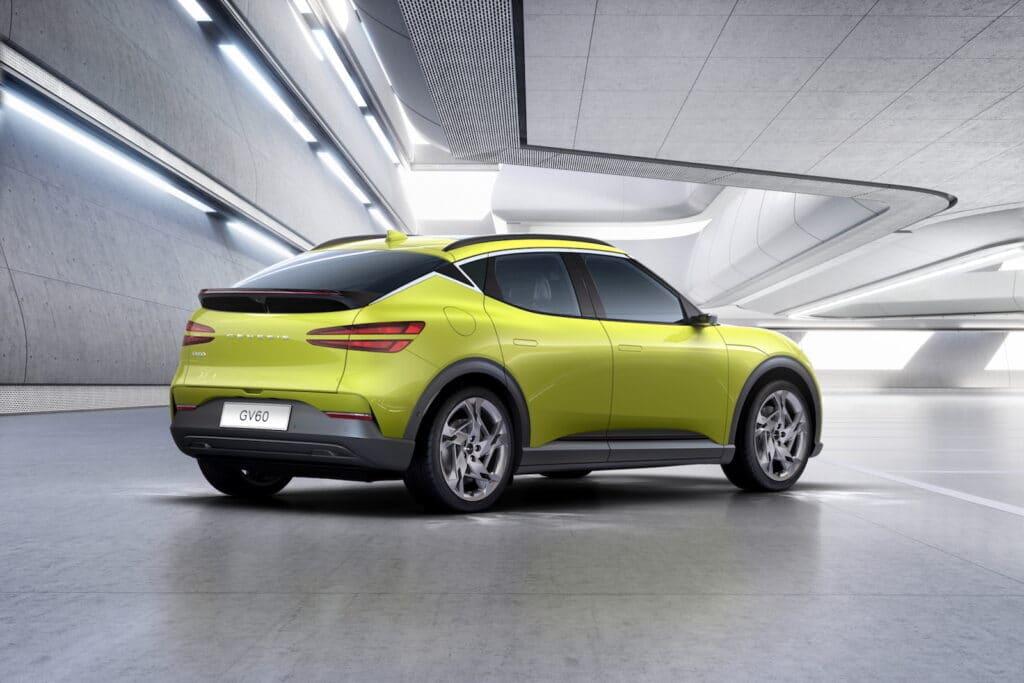 2022 Genesis GV60 debut rear