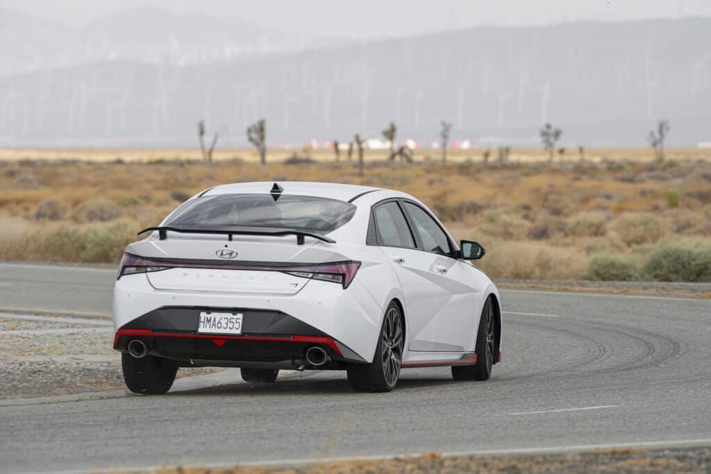 2022 Hyundai Elantra N rear