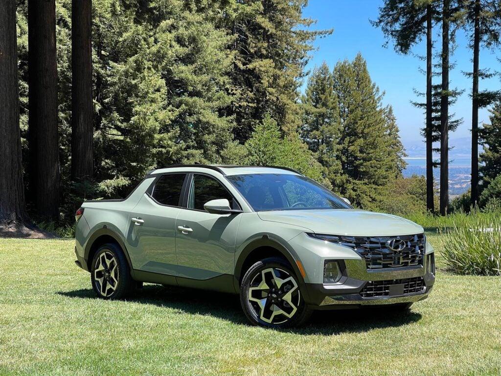 2022 Hyundai Santa Cruz - beauty shot v1