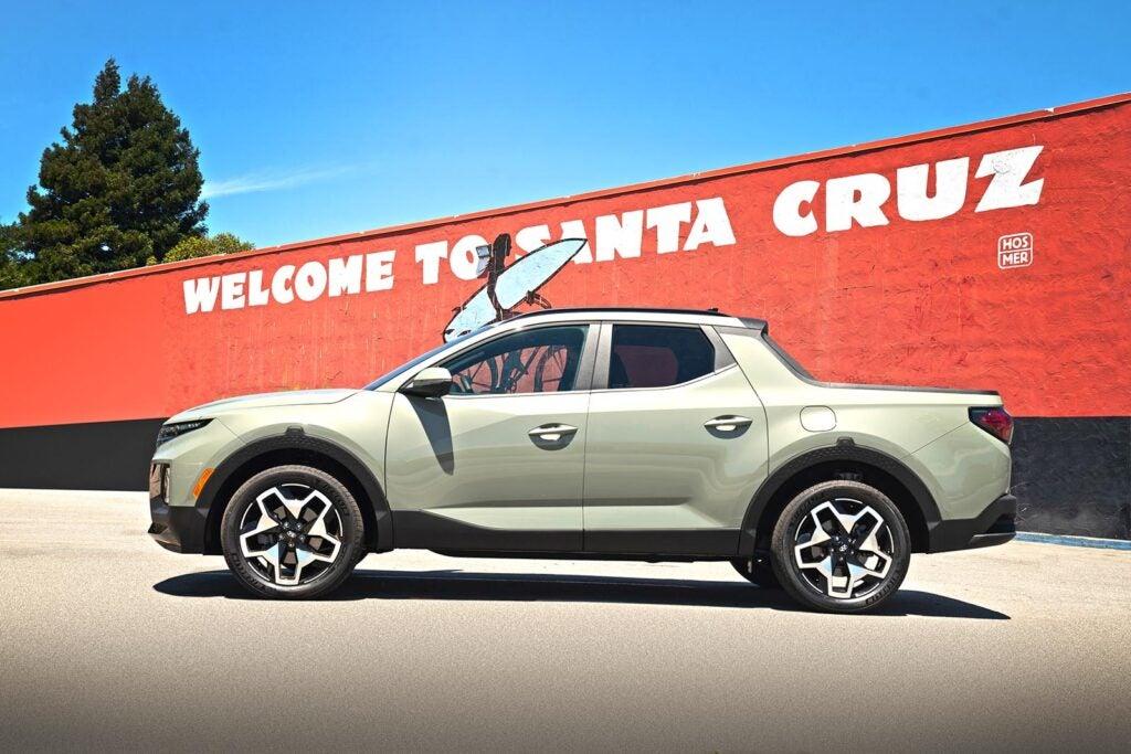 2022 Hyundai Santa Cruz - by Santa Cruz sign