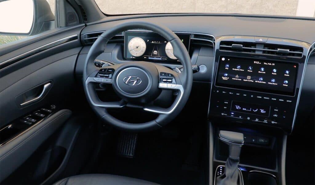 2022 Hyundai Santa Cruz - interior