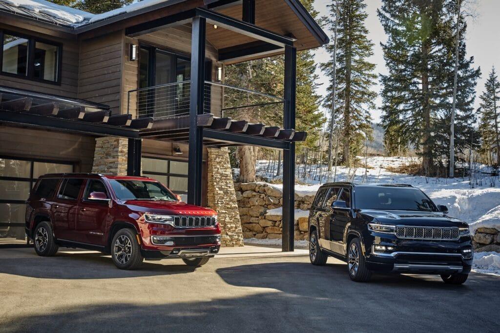 2022 Jeep Grand Wagoneer and Wagoneer lodge