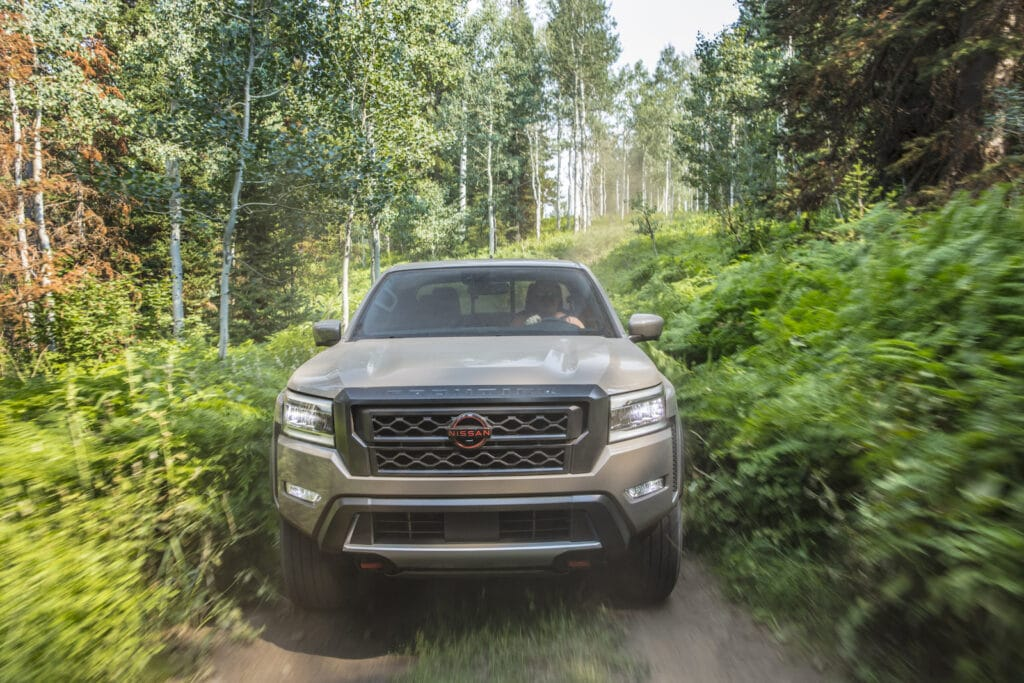 2022 Nissan Frontier brown nose