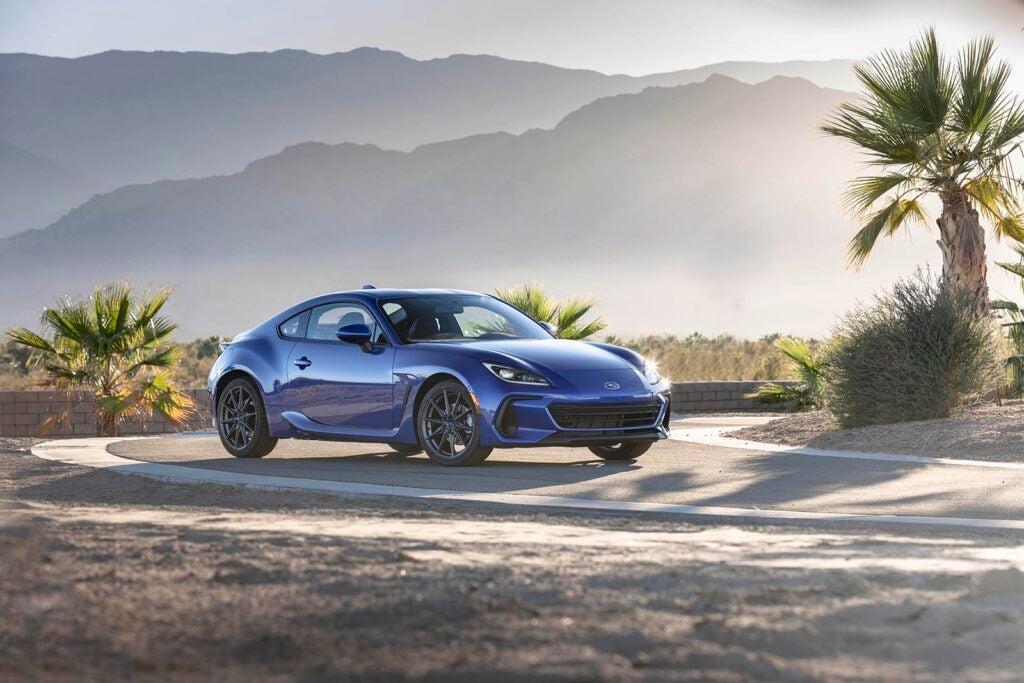 2022 Subaru BRZ - driving on-road in CA