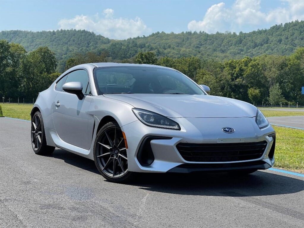 2022 Subaru BRZ - front 3-4 at Lime Rock