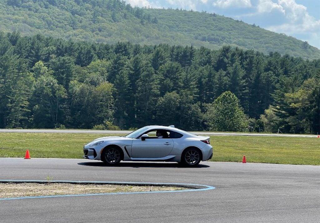 2022 Subaru BRZ - on track
