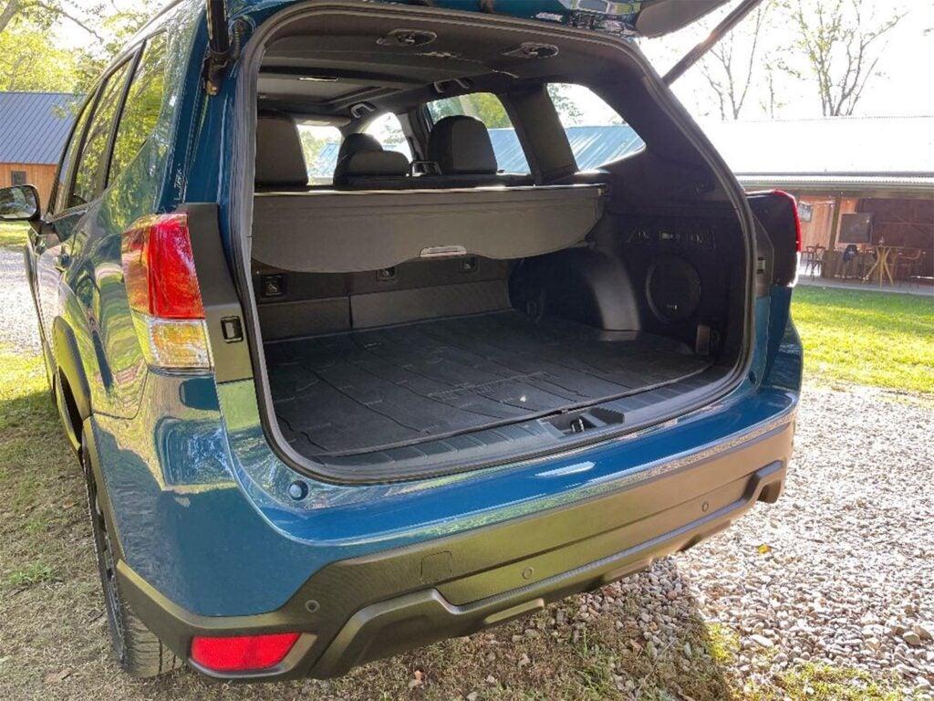 2022 Subaru Forester Wilderness - cargo bed