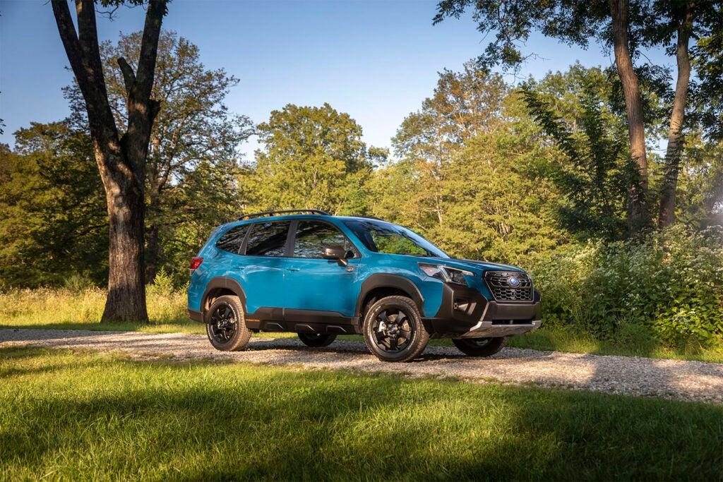 2022 Subaru Forester Wilderness - front 3-4
