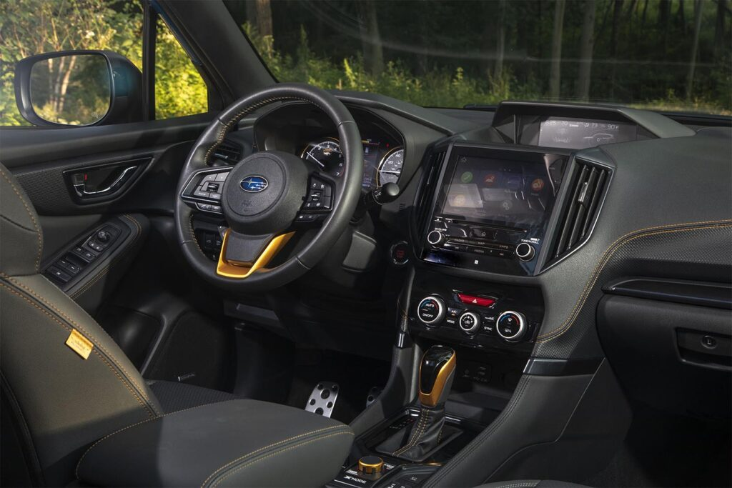 2022 Subaru Forester Wilderness - interior