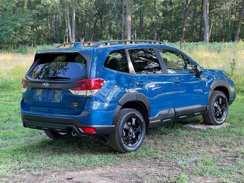 2022 Subaru Forester Wilderness - rear 3-4