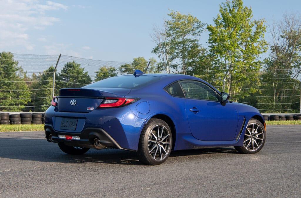 2022 Toyota GR 86 blue rear