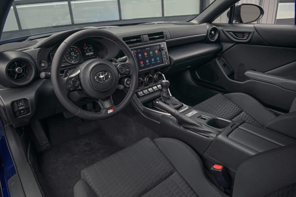 2022 Toyota GR 86 cockpit