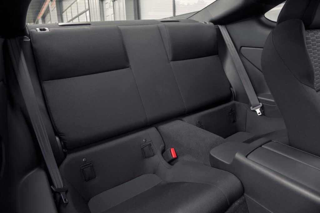2022 Toyota GR 86 rear seats