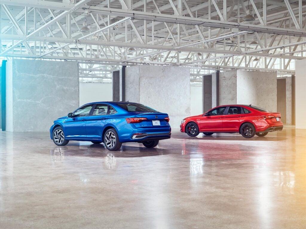 2022 VW Jetta and Jetta GLI