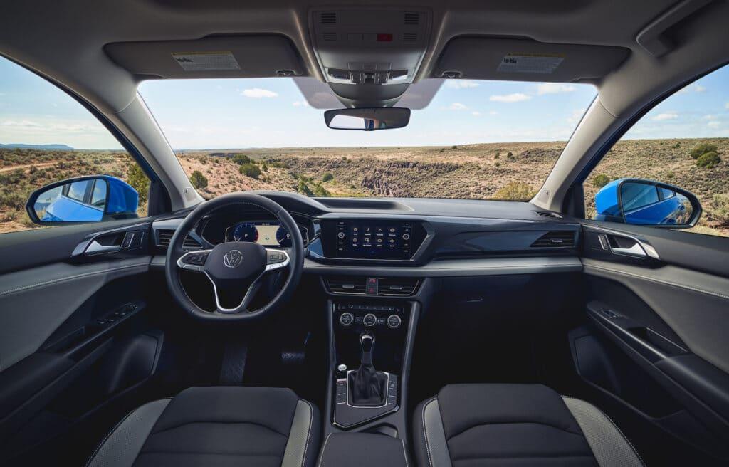2022 VW Taos SEL interior