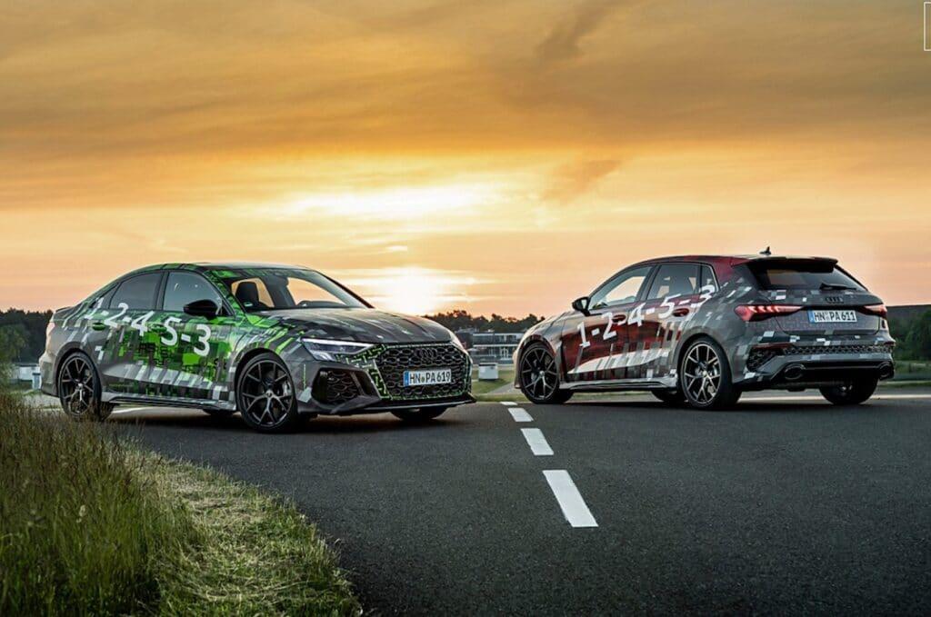 Audi RS3 pair