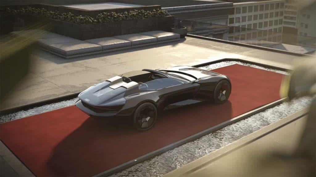 Audi skysphere concept top