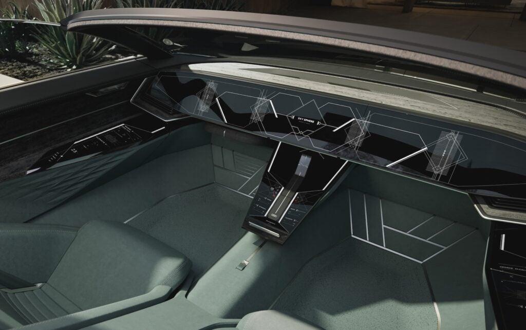 Audi skysphere concept sans driver controls