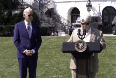 Biden at Signing Ceremony