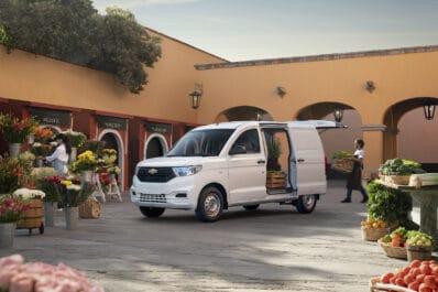 Chevrolet Tornado delivery van flowers