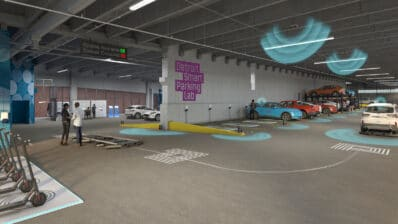 DSPL parking garage rendering