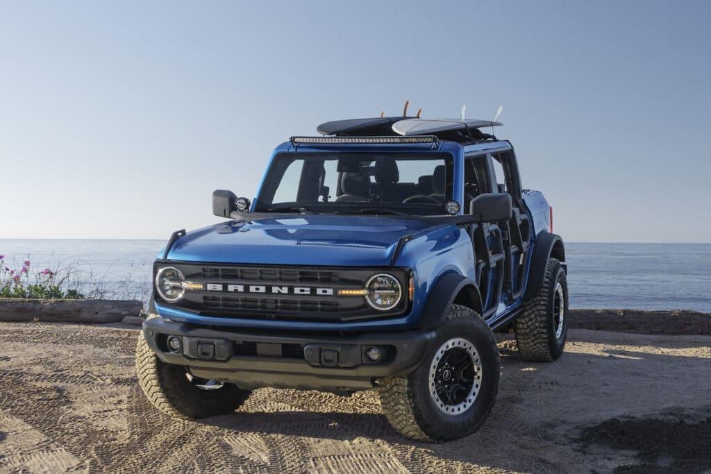 Ford Bronco Riptide Concept front