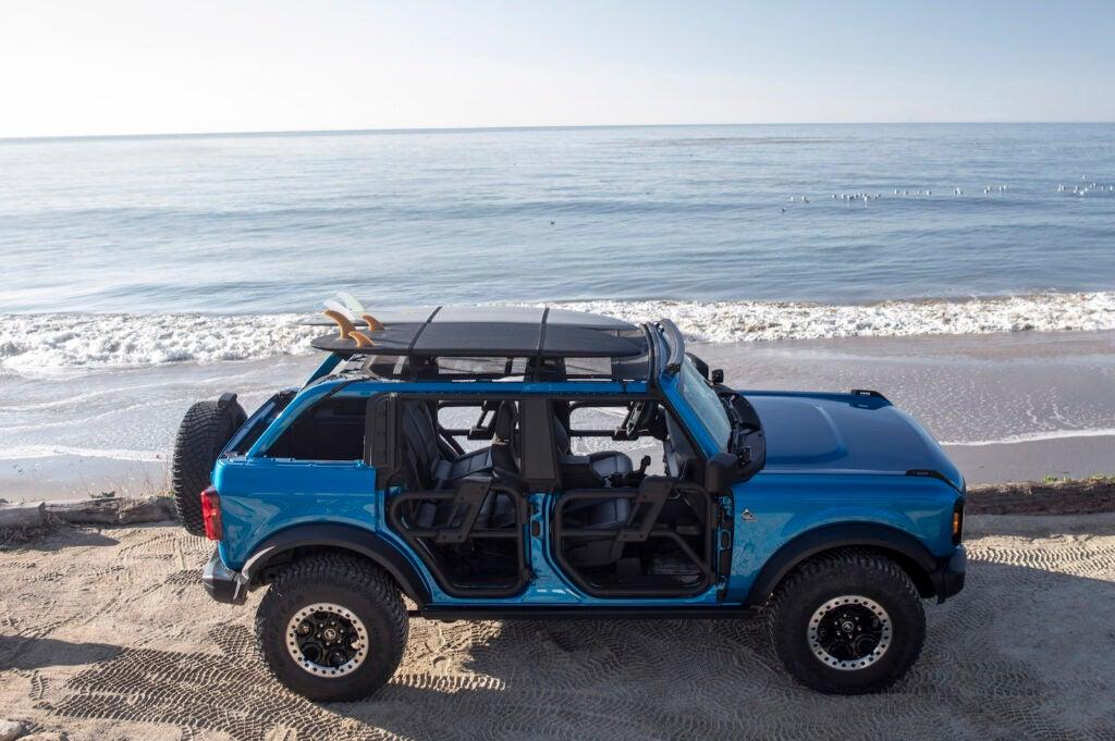 Ford Bronco Riptide Concept top