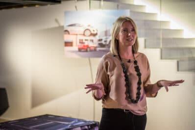 Jaguar designer Siobhan Hughes talks