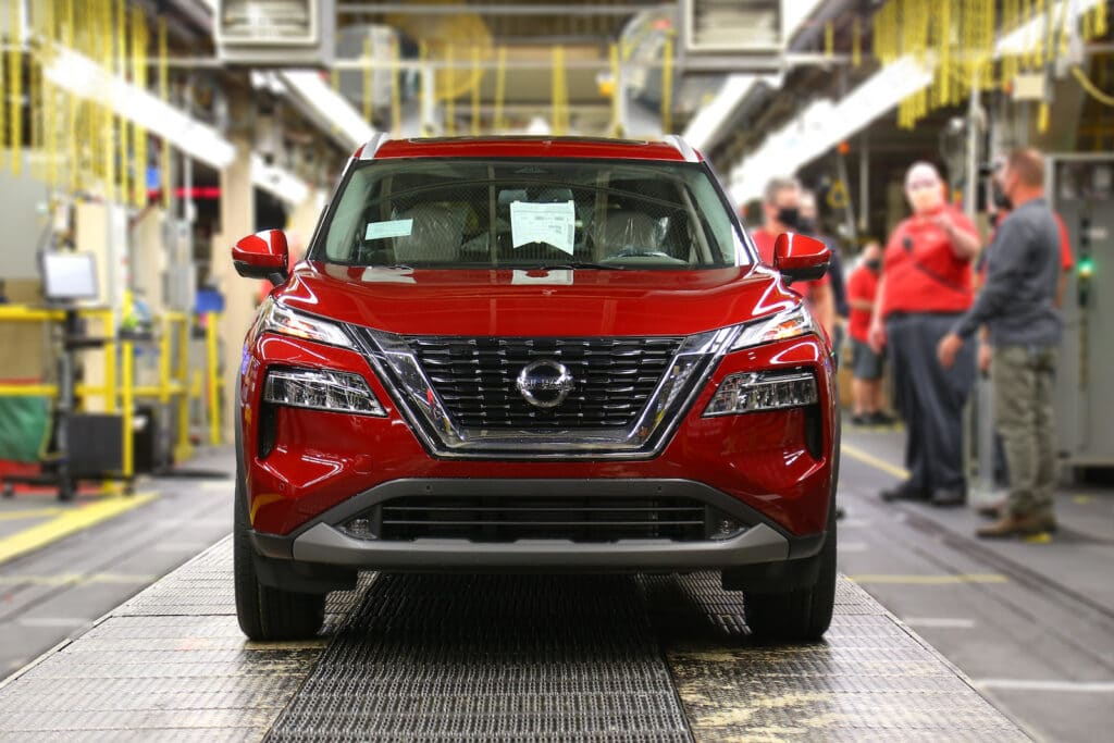 Nissan Smyrna plant 14 millionth vehicle line