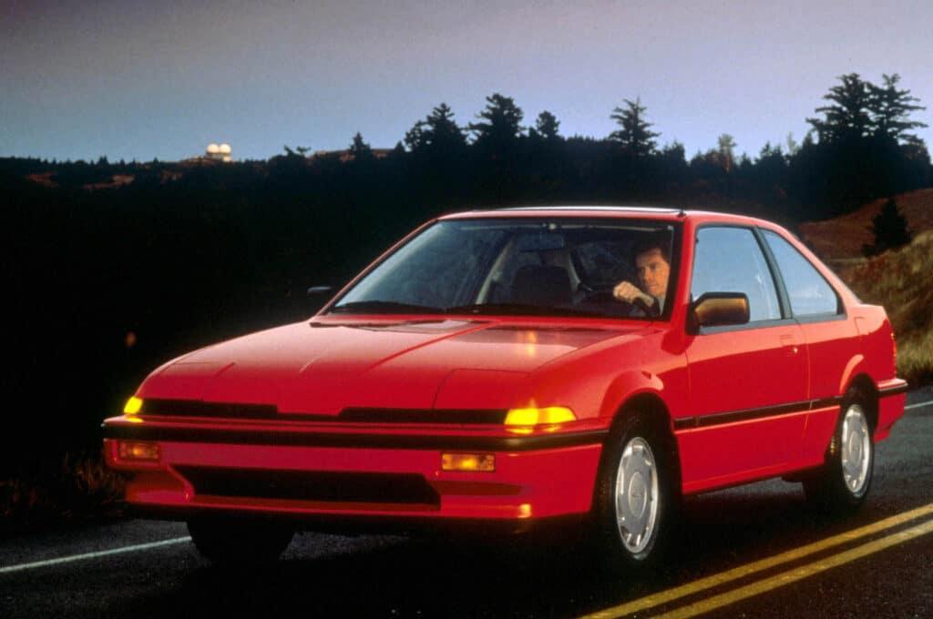 1986 Acura Integra coupe