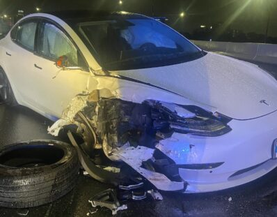 Tesla Model 3 Florida crash Aug 2021