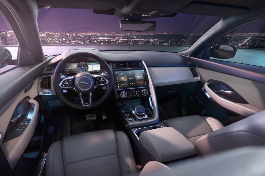 2021 Jaguar E-Pace 300 interior