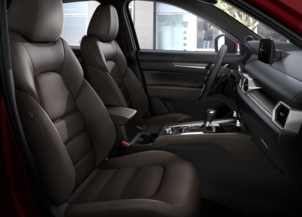 2021 Mazda CX-5 seats