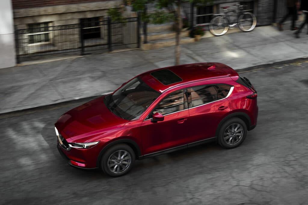 2021 Mazda CX-5 top