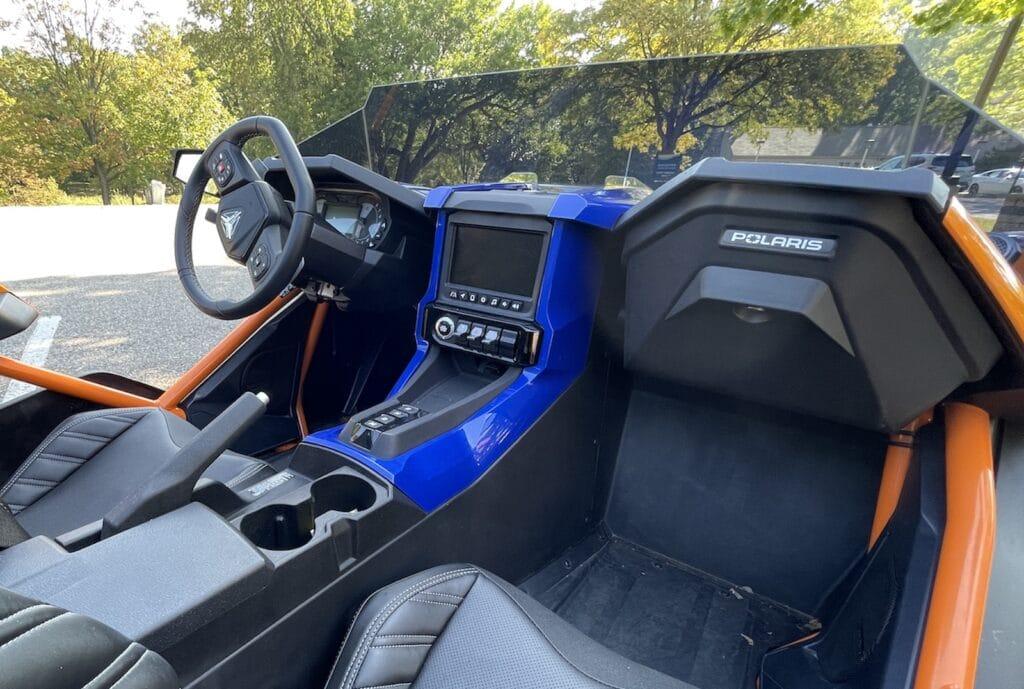 2021 Polaris Slingshot R cockpit