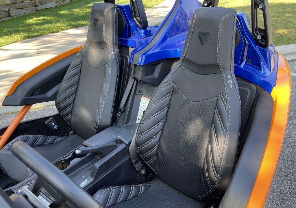2021 Polaris Slingshot R seats