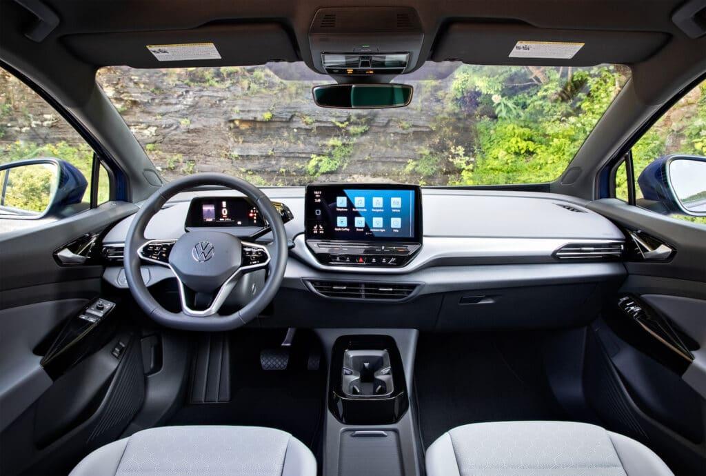 2021 VW ID.4 AWD Pro S interior