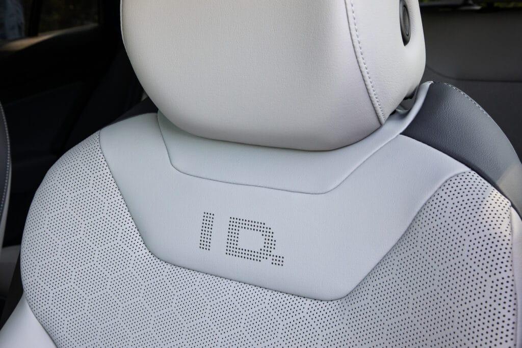 2021 VW ID.4 AWD Pro S seat back