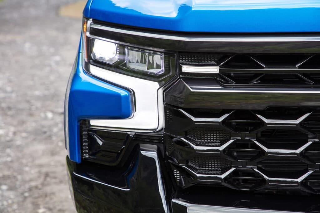 2022 Chevrolet Silverado ZR2 headlight